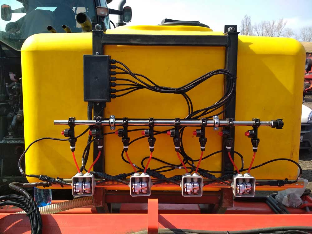 Modernization of the KUHN PLANTER-3 seeder for applying liquid fertilizers, UAN, PPP