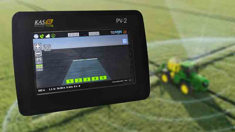 Parallel Driving Device (Agronavigator) «Vodoley»
