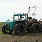 Self-propelled sprayer-spreader «Vodoley» 2