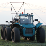 Self-propelled sprayer «Vodoley» 2
