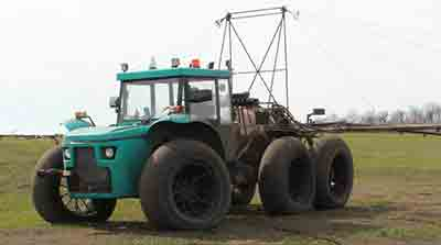 Discount 15% on used self-propelled sprayers «Vodoley»